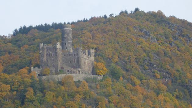 Castle, germany, Rhine River