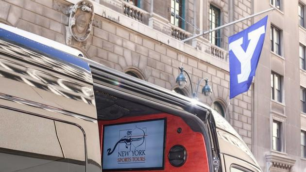 Each New York Sports Tour can accommodate up to nine passengers.