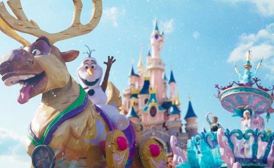 Reine des Neiges à Disneyland Paris