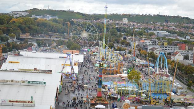 Stuttgart, Germany, Festival, Cannstatter Volksfest
