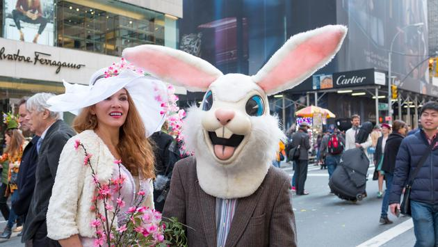 New York Easter Parade and Bonnet Festival