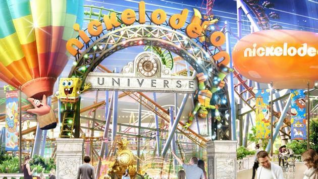 Nickelodeon, Universe, theme park