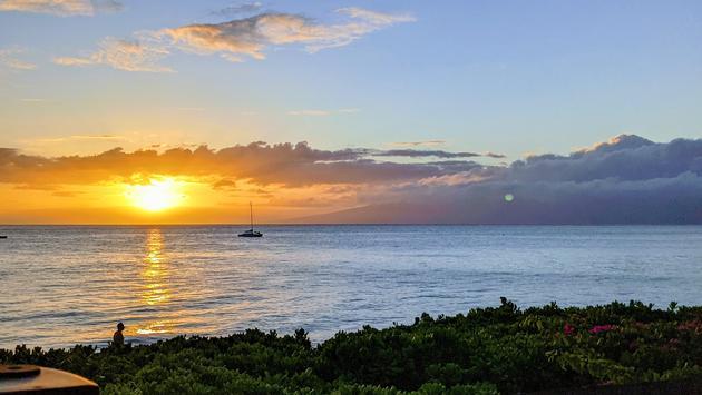 Sunset in Ka'anapali, Maui
