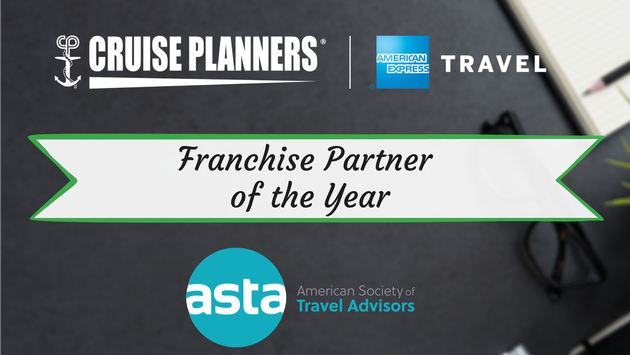 ASTA names Cruise Planners as its first-ever 'Franchise Partner of the Year'.