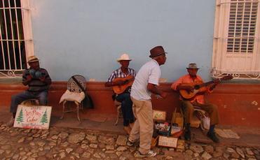 Cuba street musicians