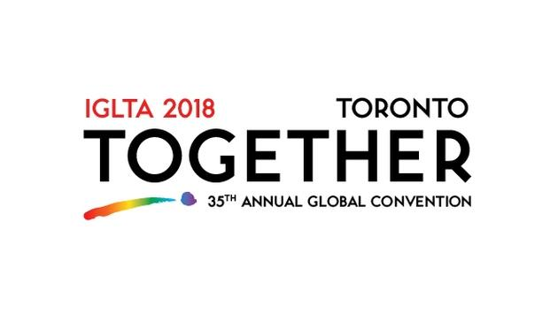 IGLTA 2018 Toronto Together 35th Annual Global Convention logo