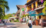 Playa Del Carmen Tourist District, Mayan Riviera, Mexico Shops, Restaurants