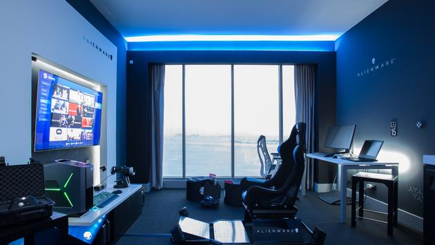 Alienware Room at Hilton Panama