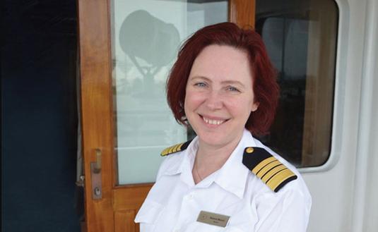 cruise, captain, woman captain, cruise line