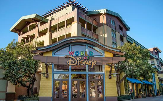 The new World of Disney store at the Downtown Disney District