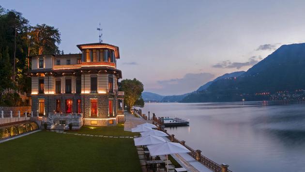 The Casta Diva will become the Mandarin Oriental Lake Como