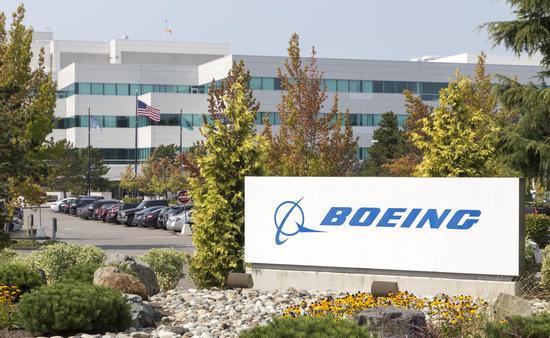 Boeing facility in Everett, Washington
