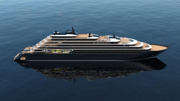 The Ritz-Carlton Yacht Collection is planning to build three sleek vessels. (photo courtesy of Ritz-Carlton Yacht Collection)