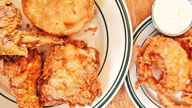 Fried chicken from Pies'n'Thighs