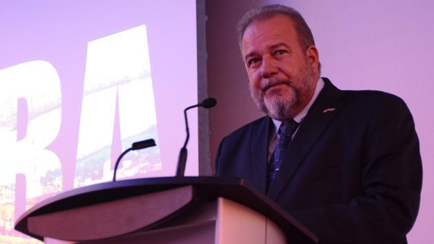 Le ministre du Tourisme de Cuba, M. Manuel Marrero.