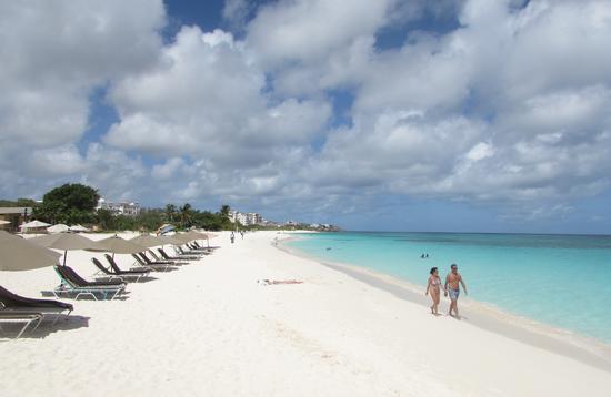 An Anguilla beach.