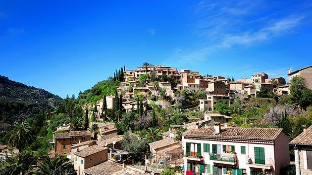 Majorca is full of idyllic villages like Deia Majorca