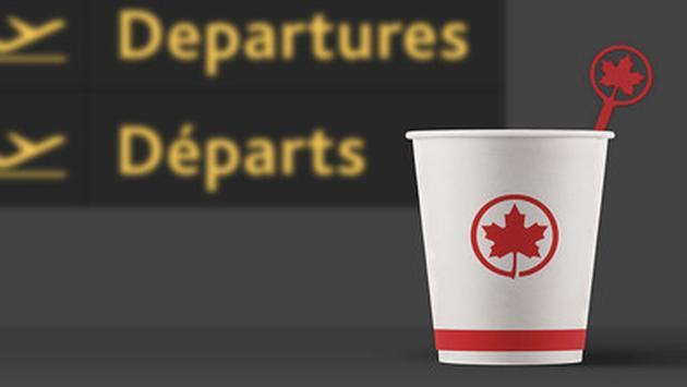 Air Canada plastique