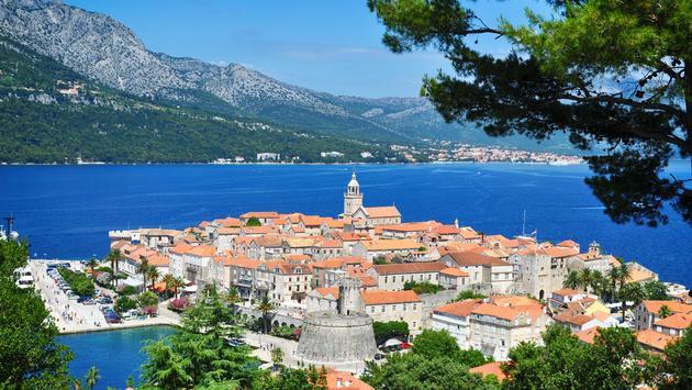 Corcula, Croatia.