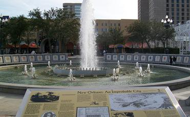 Spanish Plaza, New Orleans