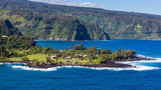 The Keanae Peninsula on the Road to Hana, Maui