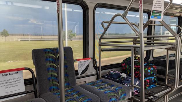 Car Rental Transfer Bus from Detroit Airport