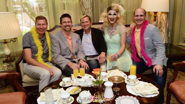 LGBTea service at New Orleans's Windsor Court hotel.