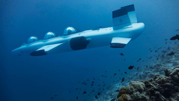 Four Seasons Resort Maldives at Landaa Giraavaru submarine