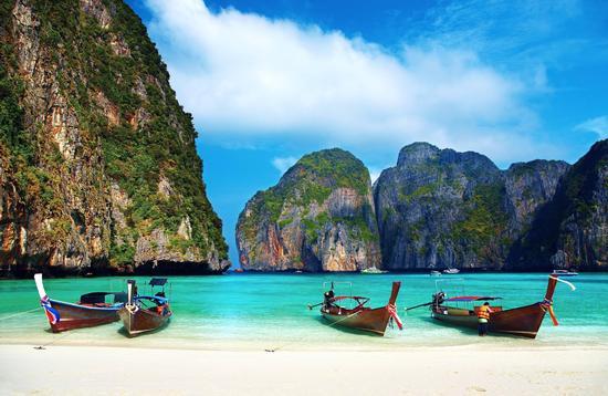 Kho Surin Tai beach, Thailand.