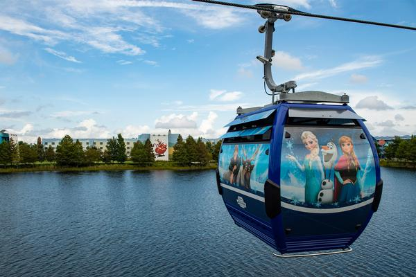 Passengers Stranded on Disney's New Skyliner
