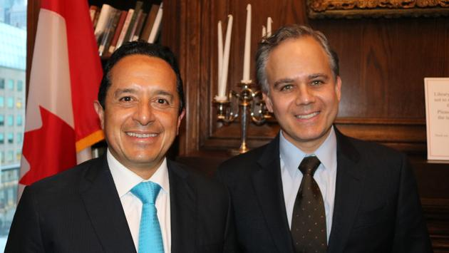 Governor Carlos Jaoquin Gonzalez