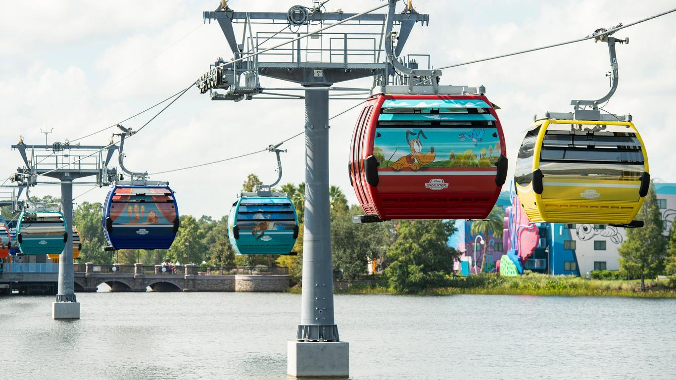 Disney Skyliner Reopens a Week After Passengers Were Stranded