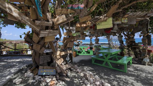 'The Outhouse' Grill & BBQ at Pineapple Beach Club Antigua, Elite Island Resorts