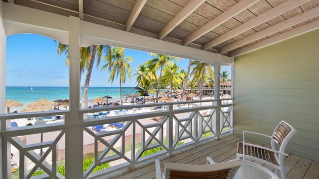 Beachfront room at Pineapple Beach Club Antigua, Elite Island Resorts
