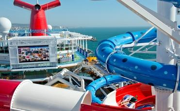 There's fun for all ages on the new Carnival Horizon.( Photo by Andy Newman courtesy of Carnival Cruise Line.)