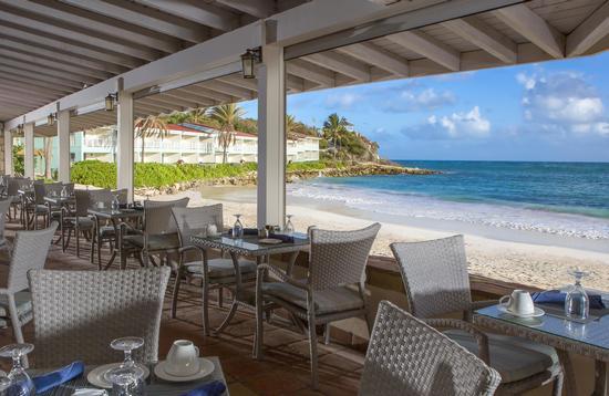 Topaz Restaurant at Pineapple Beach Club Antigua, Elite Island Resorts