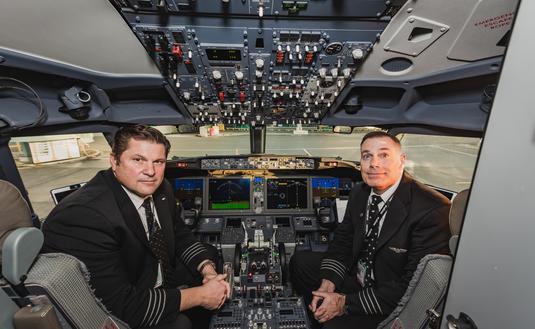 WestJet 737 MAX crew