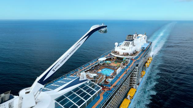Quantum of the Seas extends season from Singapore.
