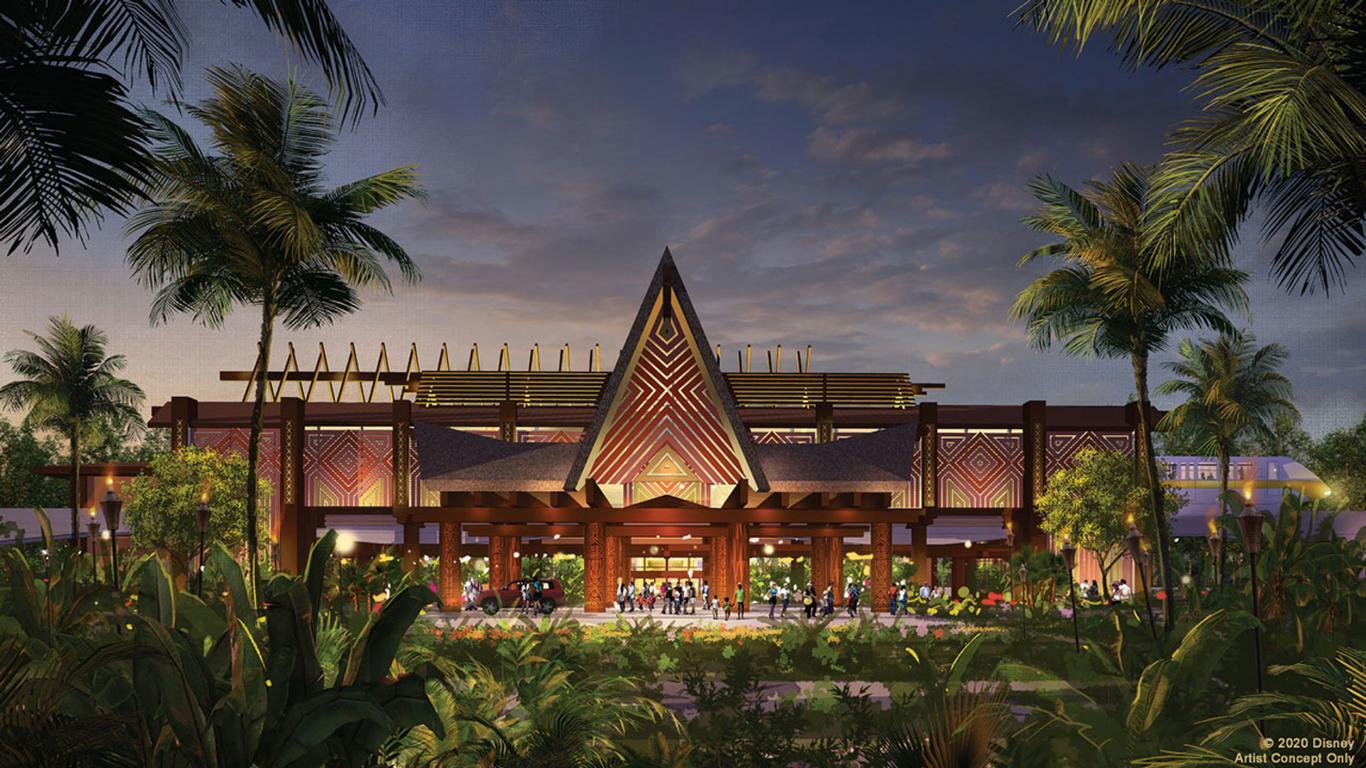 Disney Shares New Updates Coming to Polynesian Village Resort