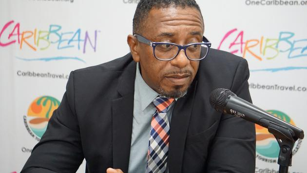 Colin James, CEO of the Antigua and Barbuda tourism Authority