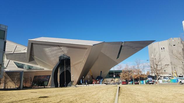 art museum, architecture, denver