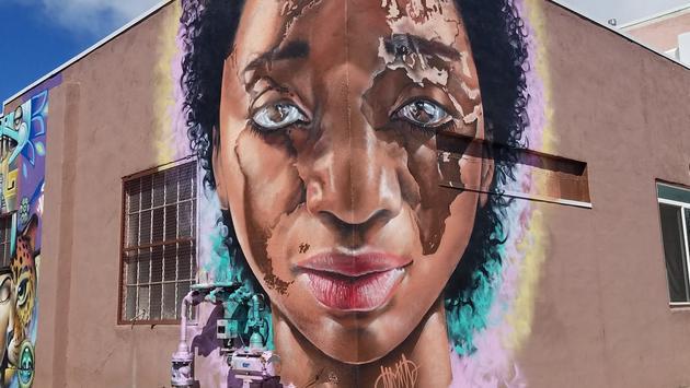 graffiti, mural, River North Arts District, Denver