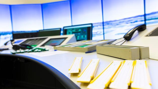 Air Traffic Control Desk
