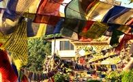 Prayer flags in Kathmandu