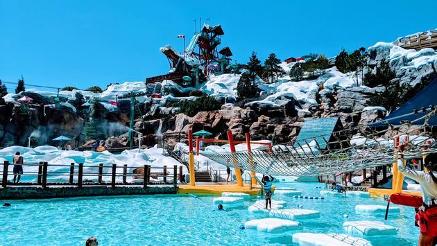 Ski Patrol Training Camp at Disney's Blizzard Beach Water Park