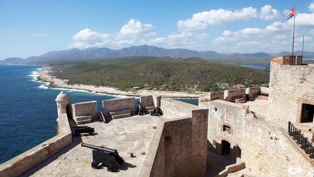 Fort de Santiago de Cuba.