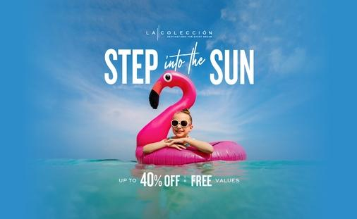 Step into the Sun with up to 40% off + Free Values