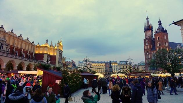 Krakow is home to just one of Poland's delightful Christmas markets