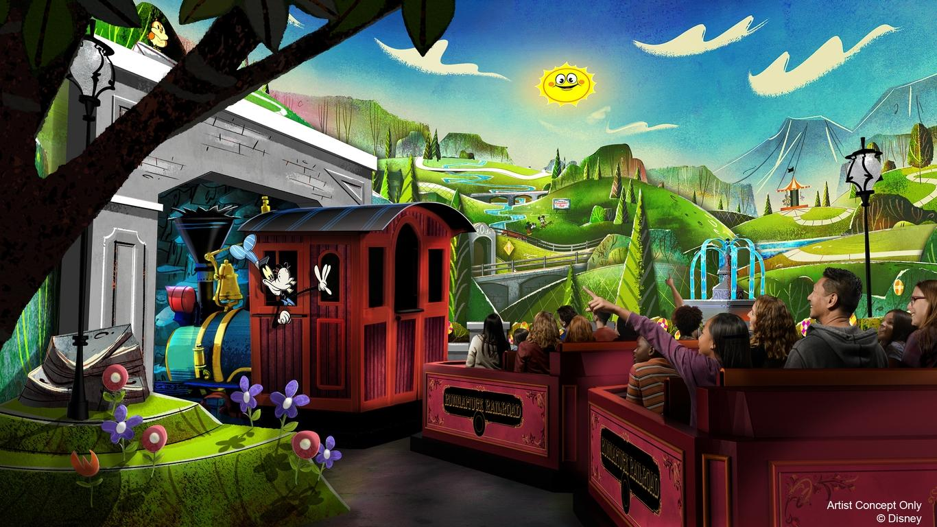 Disneyland Releases Details on Mickey and Minnie Mouse Ride