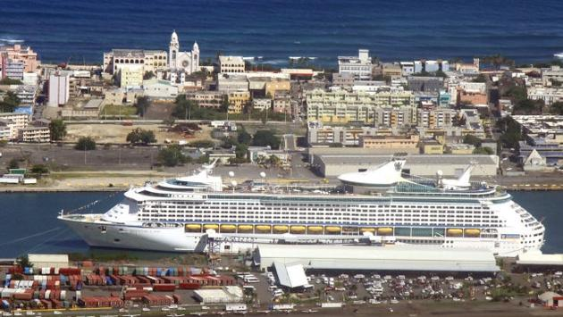 Adventure of the Seas returned to its San Juan homeport on Oct. 7, 2017